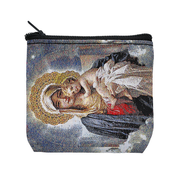 Mother & Child Rosary Pouch
