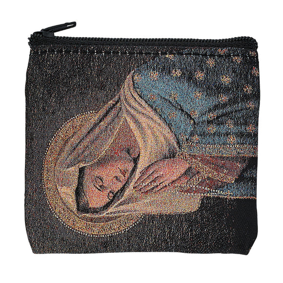 Praying Madonna Rosary Pouch