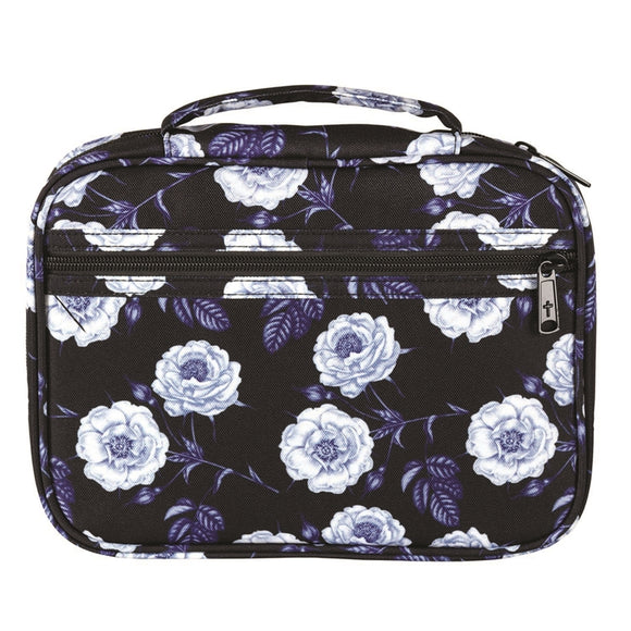 Blue Floral Bible Case