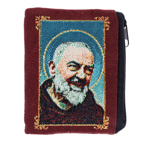 St. Padre Pio Rosary Pouch