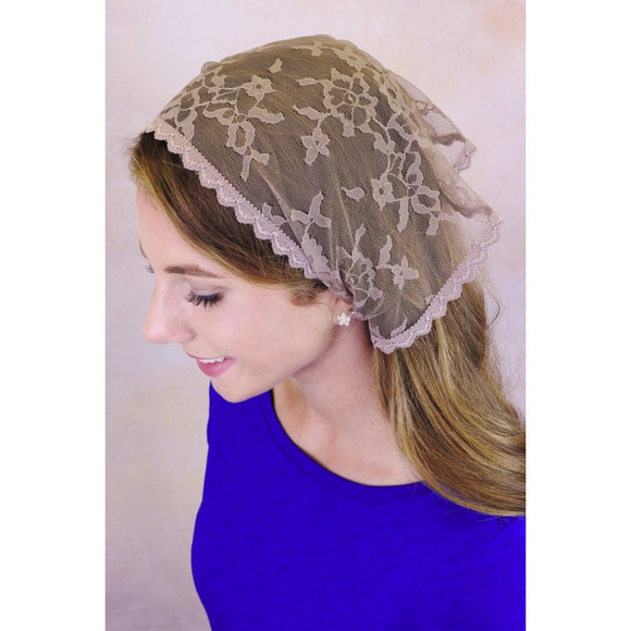 Small Starter Veil with Ties