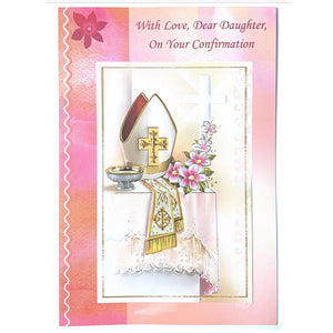 Daughter Confirmation Card