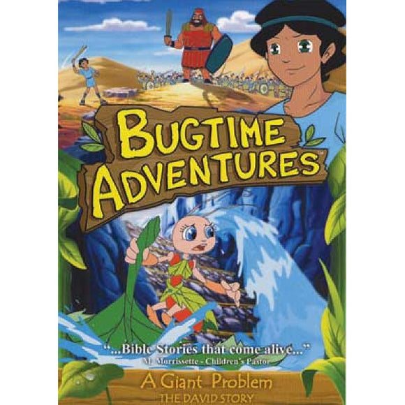 Bugtime Adventures: A Giant Problem - The David Story