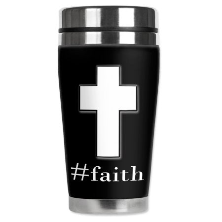 #Faith Travel Mug