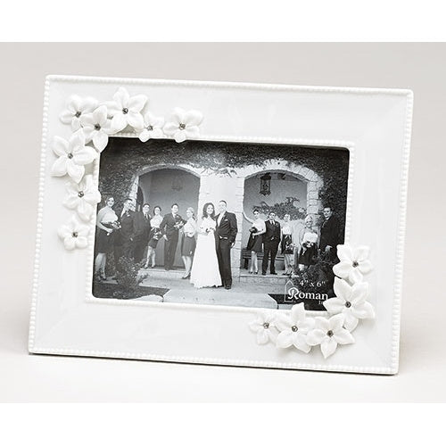 Love in Bloom Wedding Frame