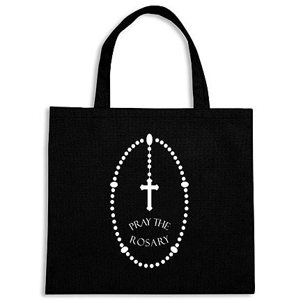 Pray the Rosary Tote Bag