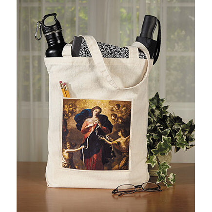 Mary, Untier of Knots Tote Bag