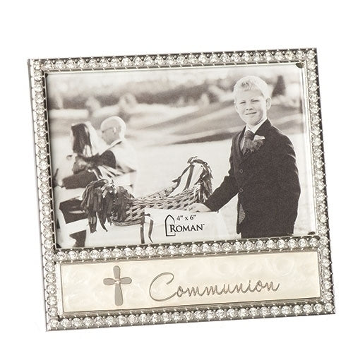Jeweled First Communion Frame