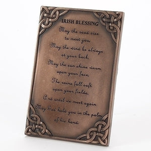 Bronze Irish Blessing Plaque