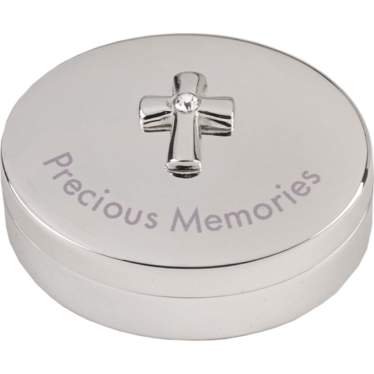 Silver Precious Memories Heirloom Box