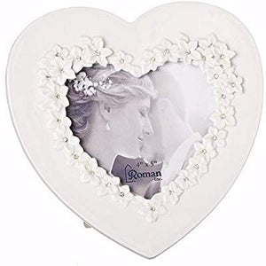 Love in Bloom Heart Frame