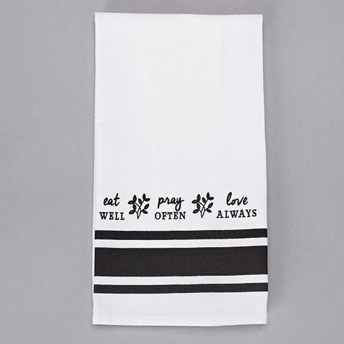 Eat, Pray, Love Towel