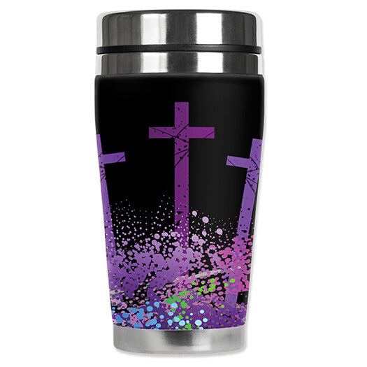 Three Crosses Travel Mug