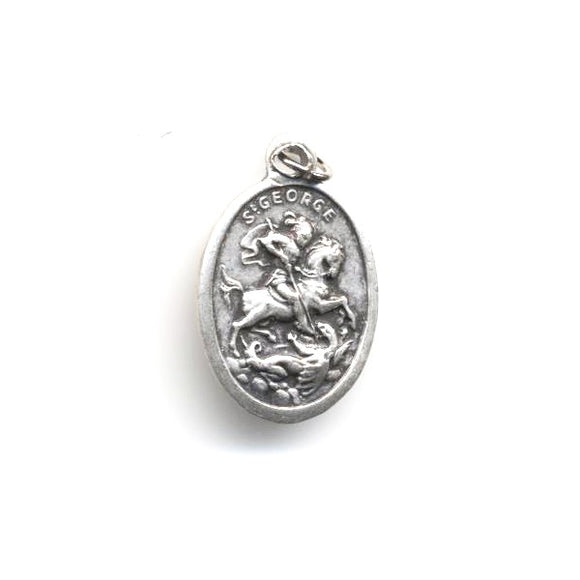 St. George-St. Paul Oxidized Medal