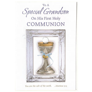 To a Special Grandson on His First Holy Communion
