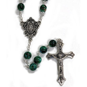 Marbled Green Rosary