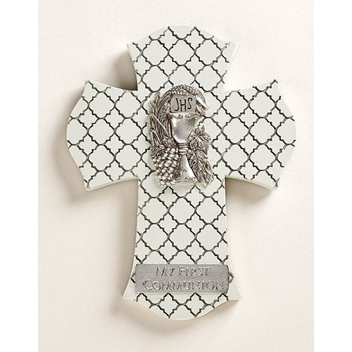 Off White Communion Wall Cross