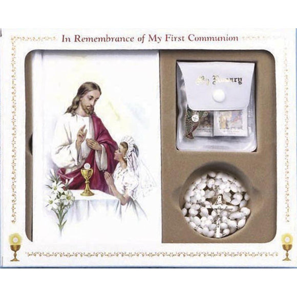 Girl's First Communion Set