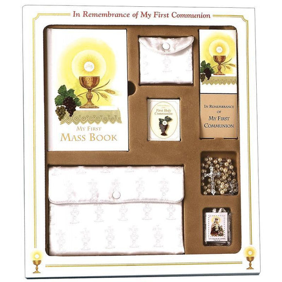 First Communion Deluxe Gift Set for Girls
