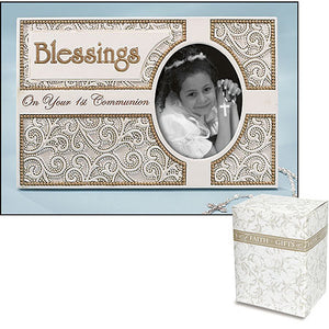 Blessings on Your First Communion Frame