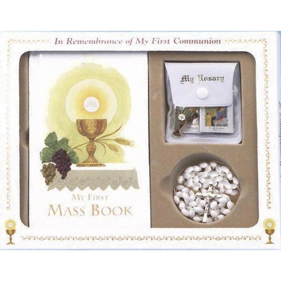 First Mass Book Boxed Set for Girls