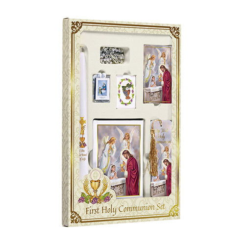 Blessed Sacrament Deluxe First Communion Set for Girls