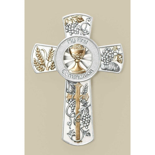 Silver & Gold Communion Cross
