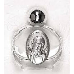 St. Padre Pio Holy Water Bottle