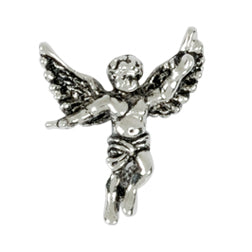 Guardian Angel Pewter Lapel Pin