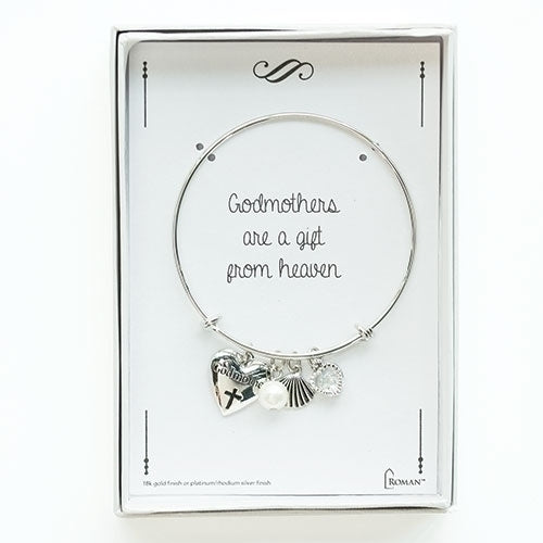 Adjustable Godmother Charm Bracelet