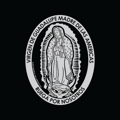 Virgen de Guadalupe Car Decal