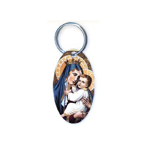 Our Lady of Mt. Carmel Keychain
