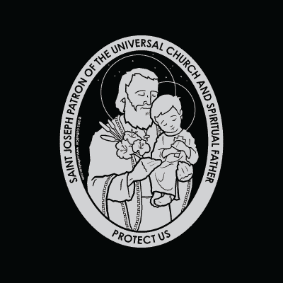 St. Joseph Car Decal