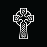 Celtic Cross Car Decal