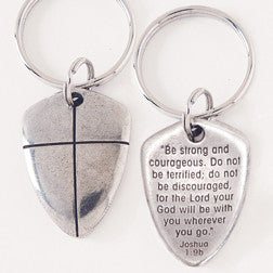 Shield of Faith Keychain
