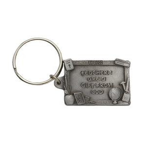 Teachers are a Gift From God Keychain