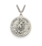 St. Michael Nickel Silver Navy Medal