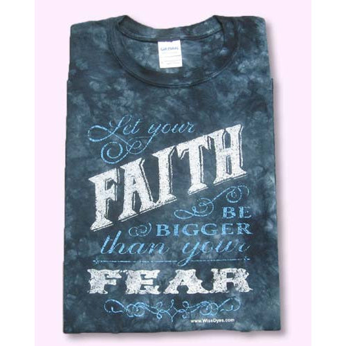 Let Your Faith Tie-Dyed T-Shirt