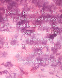 Love Endures Tie-Dyed T-Shirt