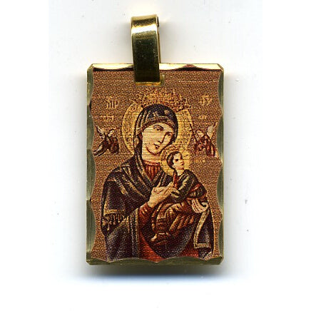 Our Lady of Perpetual Help Pendant