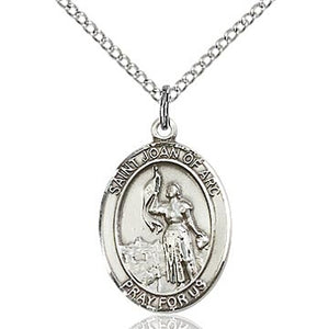 St. Joan of Arc Sterling Silver Medal