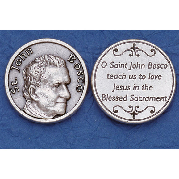 St. John Bosco Pocket Token