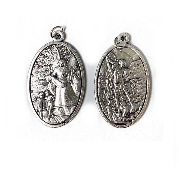 Guardian Angel & St. Michael Medal