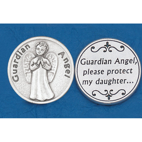 Guardian Angel Daughter Pocket Token