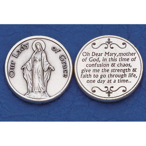 Our Lady of Grace Pocket Token
