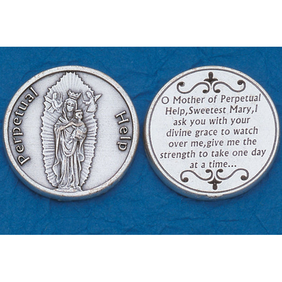 Our Lady of Perpetual Help Pocket Token
