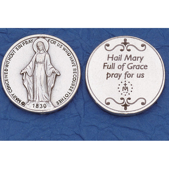 Miraculous Medal Pocket Token