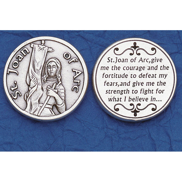 St. Joan of Arc Pocket Token
