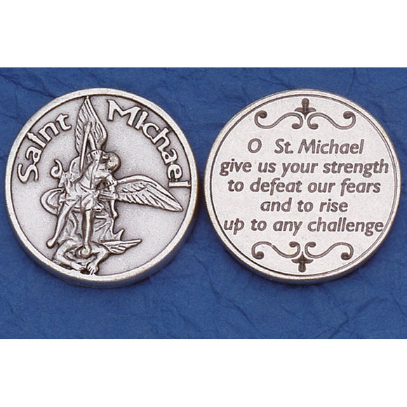 St. Michael Pocket Token