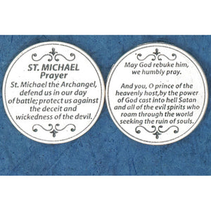 St. Michael Prayer Pocket Token